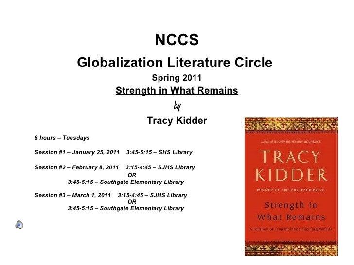 Literaure circle presentation simeen tabatabai