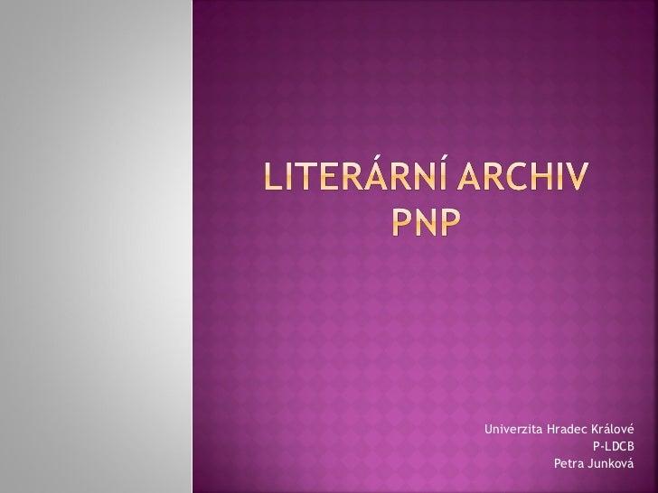 Literární archiv