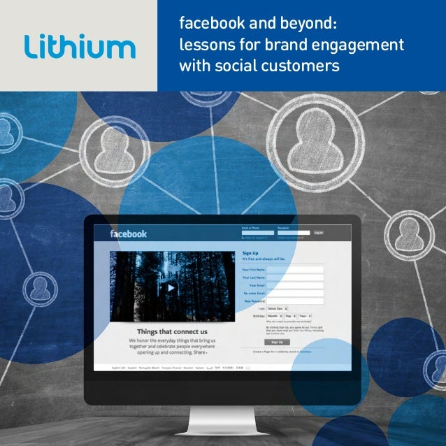 facebook and beyond:lessons for brand engagementwith social customers