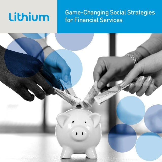 Game-Changing Social Strategies for Financial Services