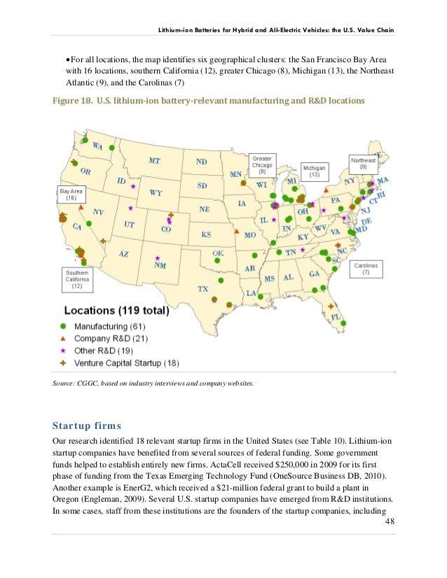 ENERGIESPEICHERUNG USA