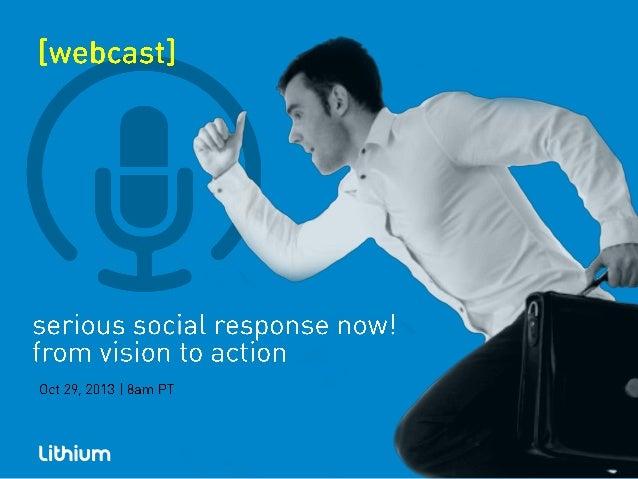 Lithium serious social response copy