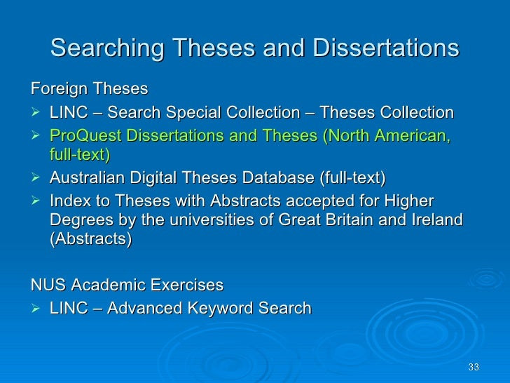 nus thesis database Nus thesis database teaching and research, see music first year of the degree designed to support a student may be taken.