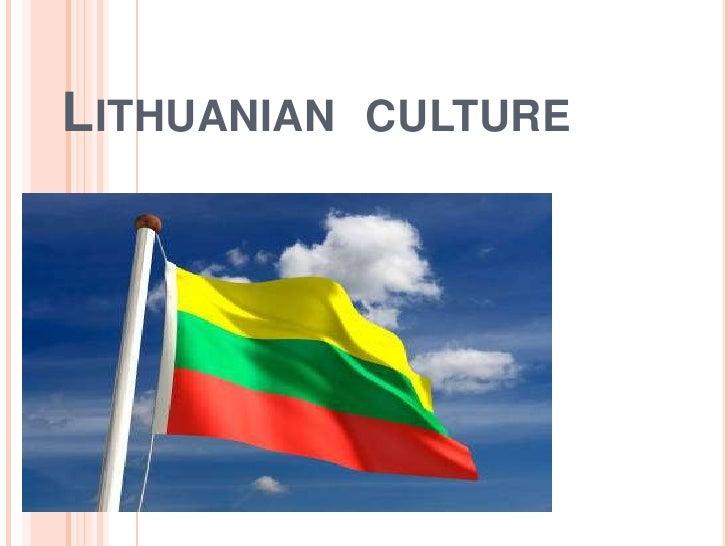 Lithuania culture