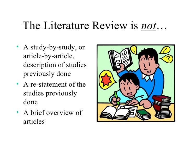Critically analyze literature review
