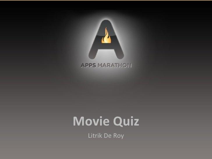 Apps Marathon - Movie quiz app for Android