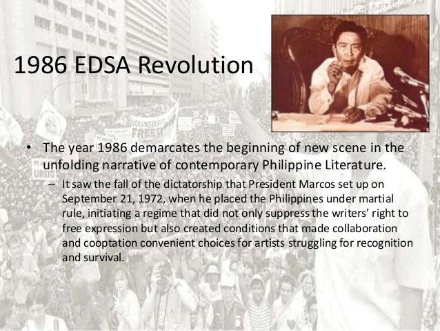 edsa 1 revolution essay