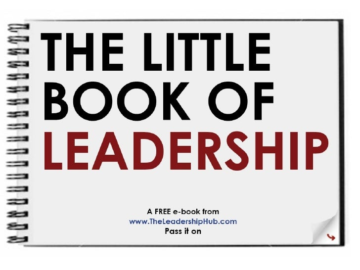 Little Book Of Leadership Powerpoint 119247549778650 1