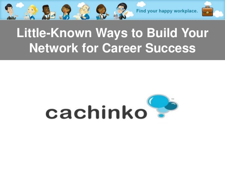 Little-Known Ways to Build Your  Network for Career Success         Contact Heather at heather@comerecommended.com