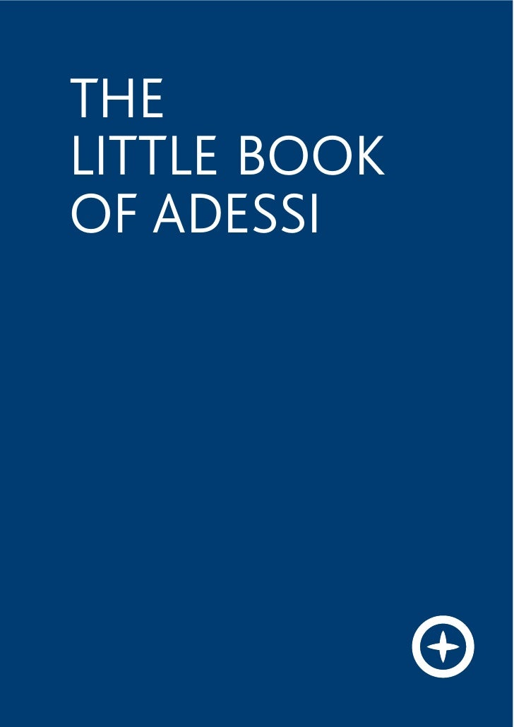 THE LITTLE BOOK OF ADESSI