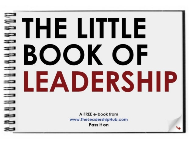 Little book of leadership ppt
