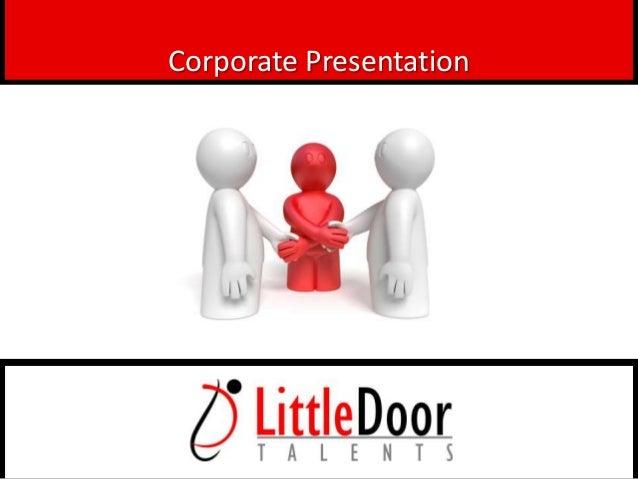 LittleDoor Talents Pvt Ltd