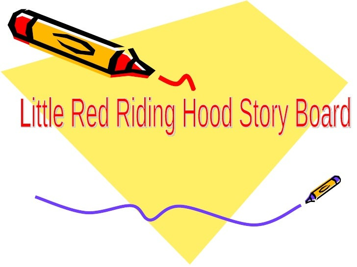 Little Red Story Board