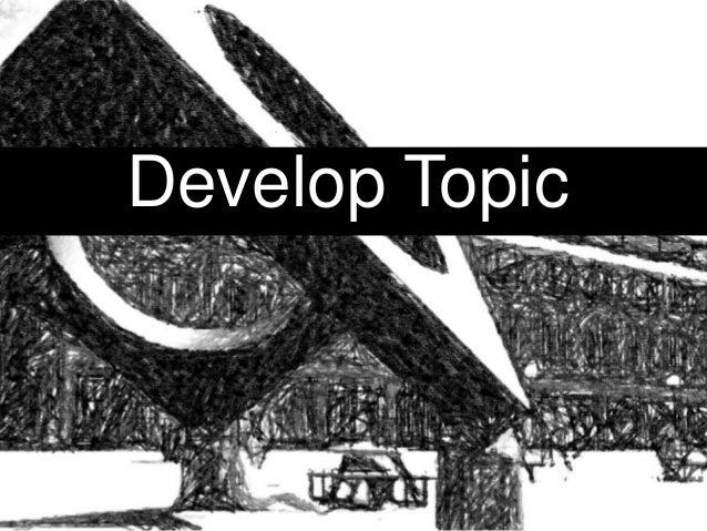 Develop Topic