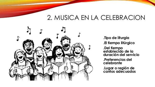 Resultado de imagen para El canto y la música en la Liturgia