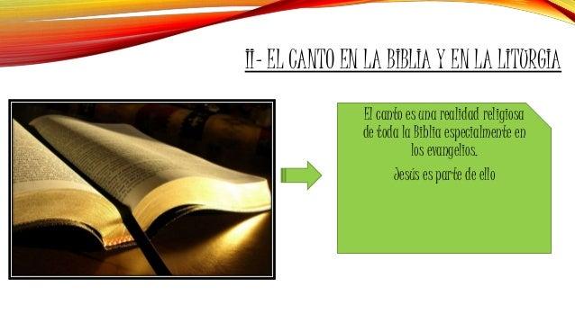 Resultado de imagen para EL CANTO EN LA BIBLIA Y EN LA LITURGIA