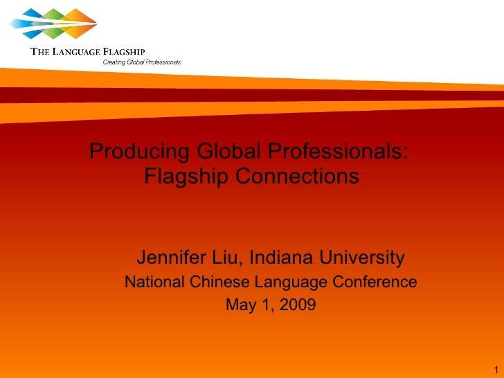 Liu Producing Global Professionals