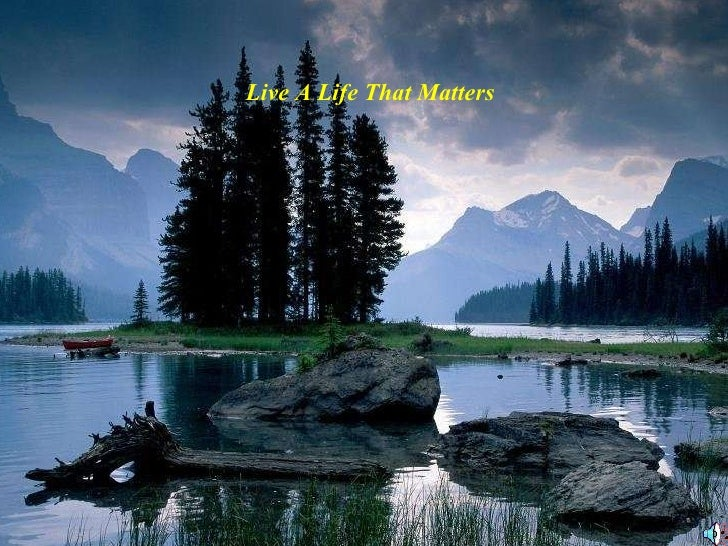 Live a life_that_matters