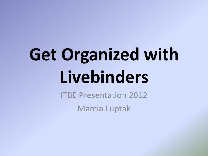 Livebinders presentation2