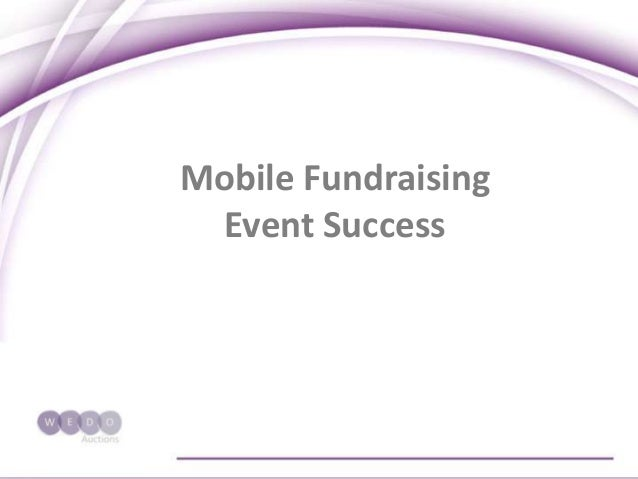 Mobile Fundraising Event Success