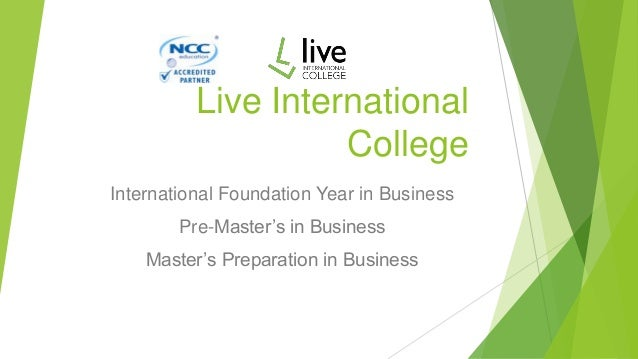 Live international college
