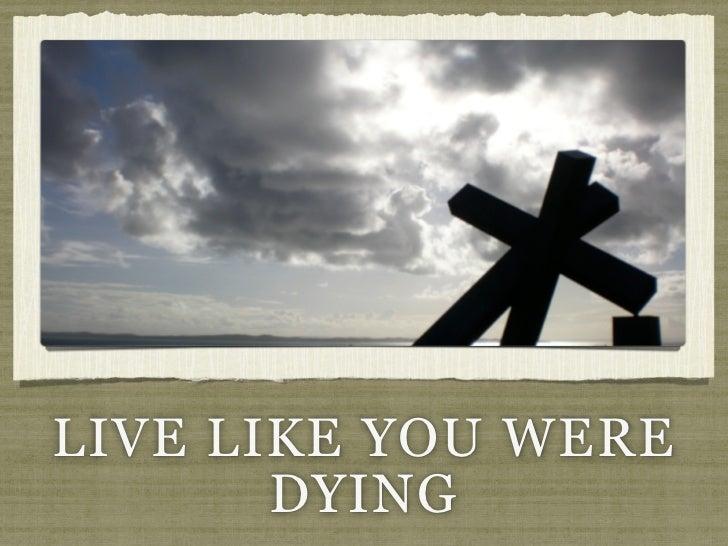 live like we were dying lyrics