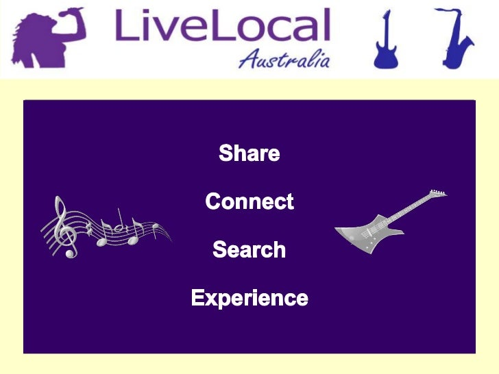 What is LiveLocal?LiveLocal is a user-generated gig guide site where users can add,access and share information on live mu...