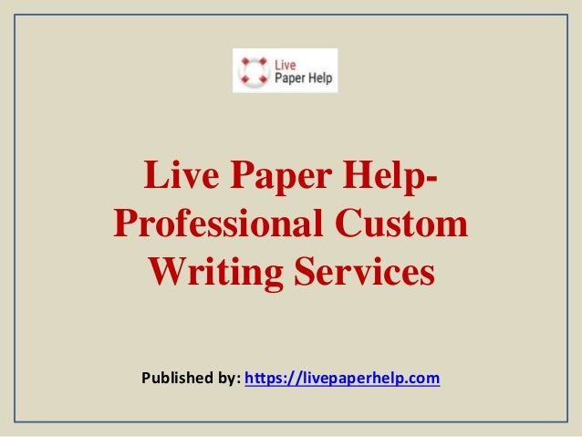 Professional research paper writing services - Get Help From Custom ...