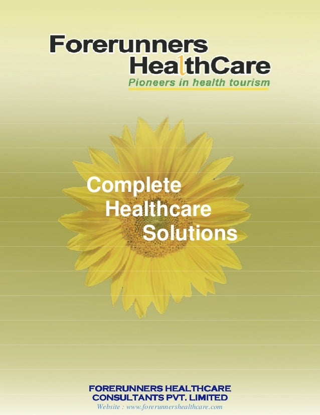 FORERUNNERS HEALTHCAREFORERUNNERS HEALTHCAREFORERUNNERS HEALTHCAREFORERUNNERS HEALTHCARE CONSULTANTS PVT. LIMITEDCONSULTAN...