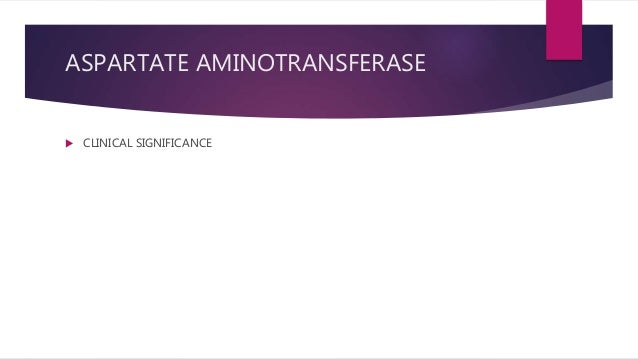 liver function test aspartate aminotransferase ast