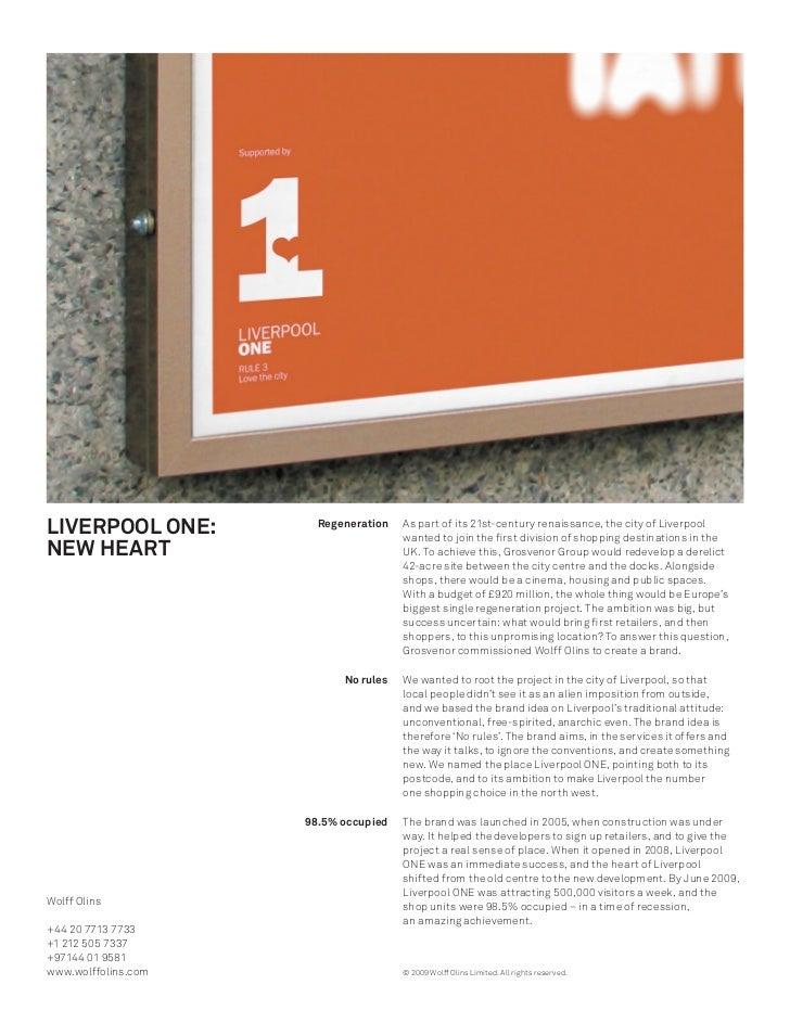 Liverpool ONE Case Study