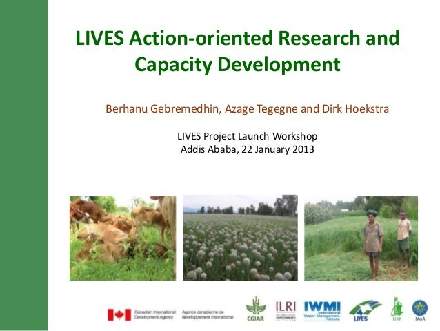 LIVES action-oriented research and capacity development