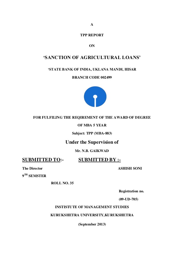 Education Loan Closing Letter Format
