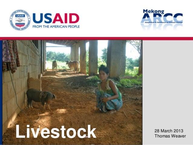 Mekong ARCC - Final Workshop - Livestock Study