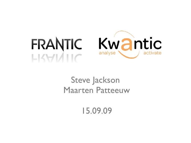 Steve Jackson Maarten Patteeuw      15.09.09