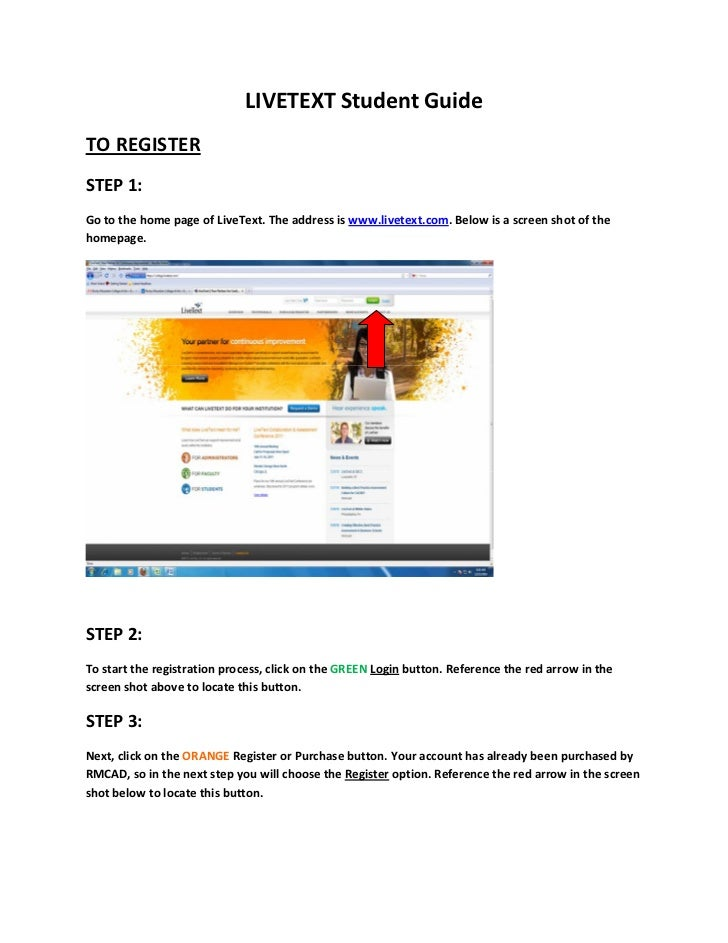 Livetext student guide 2012 1