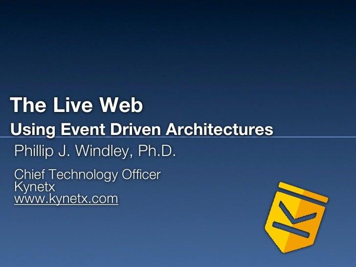 The Live Web #SCITDA11 Keynote