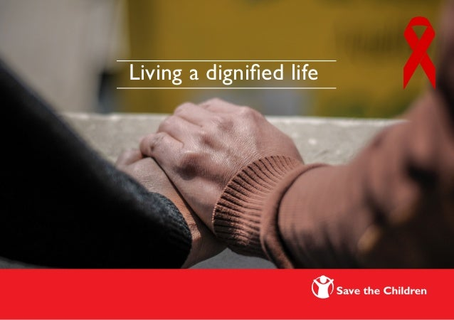 Living a dignified life