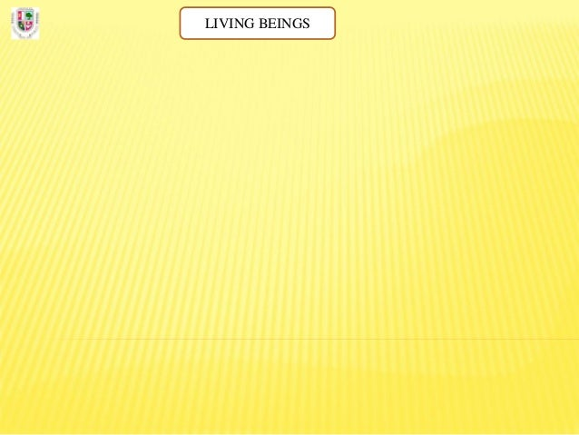 Living beings diagram.