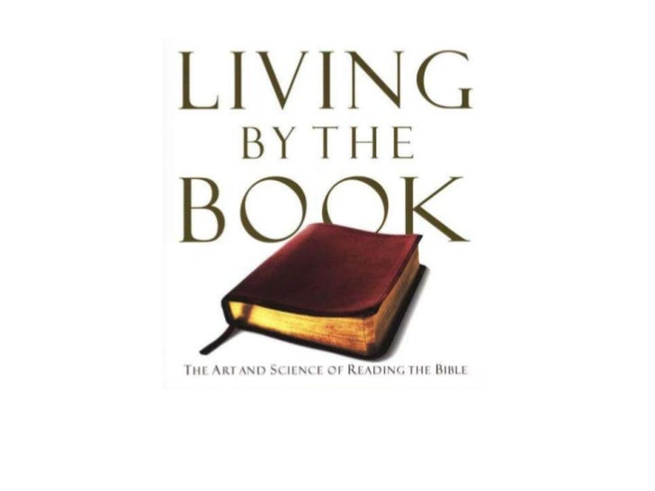Living by the Book Session 1