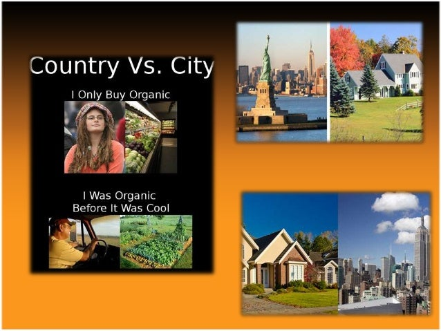 rural vs country living