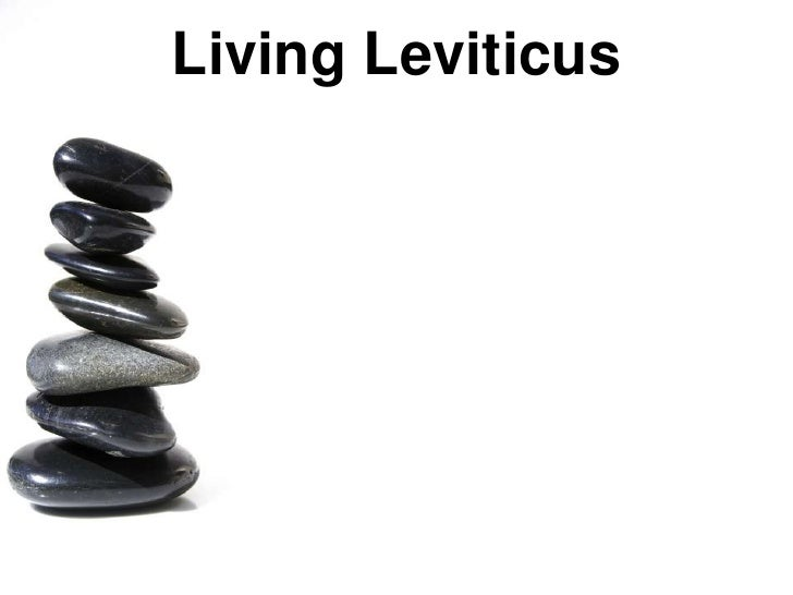 Living Leviticus Introduction