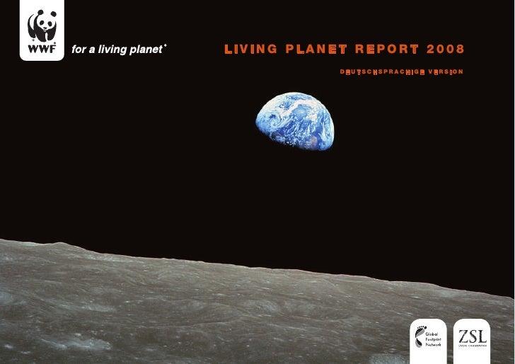 WWF Living Planet Report 2008