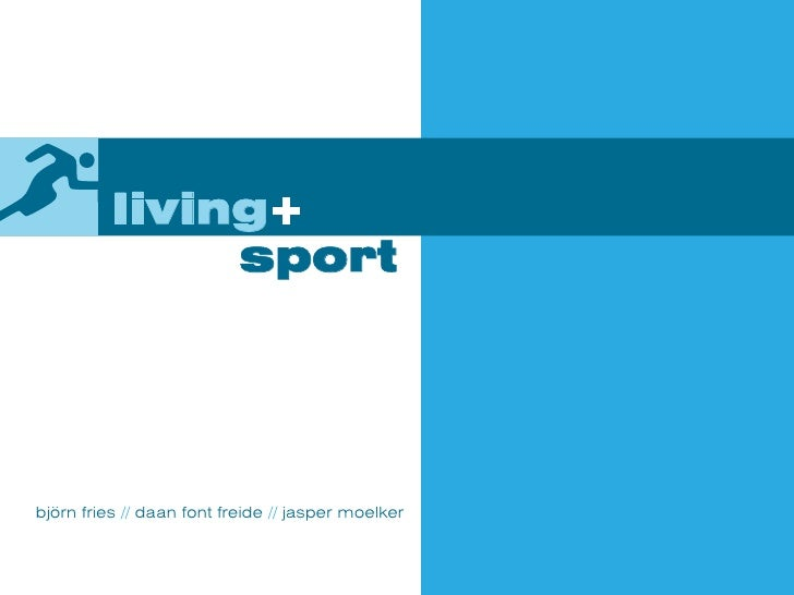 Living + Sport (educational project) - Maquette (Jan 2007)