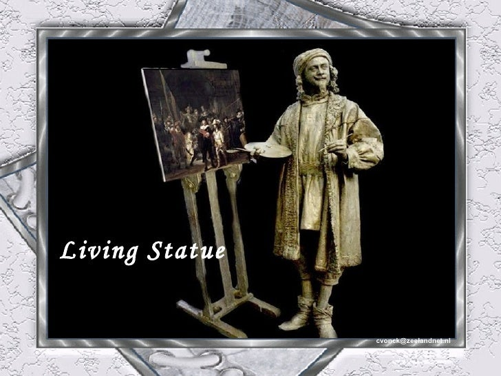 Living statue1