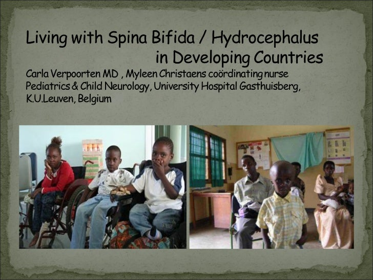 Living with spina bifida and hydrocephalus in developing countries carla verpoorten web