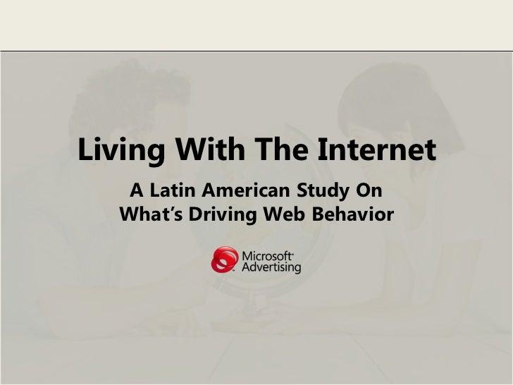 Viviendo con el Internet