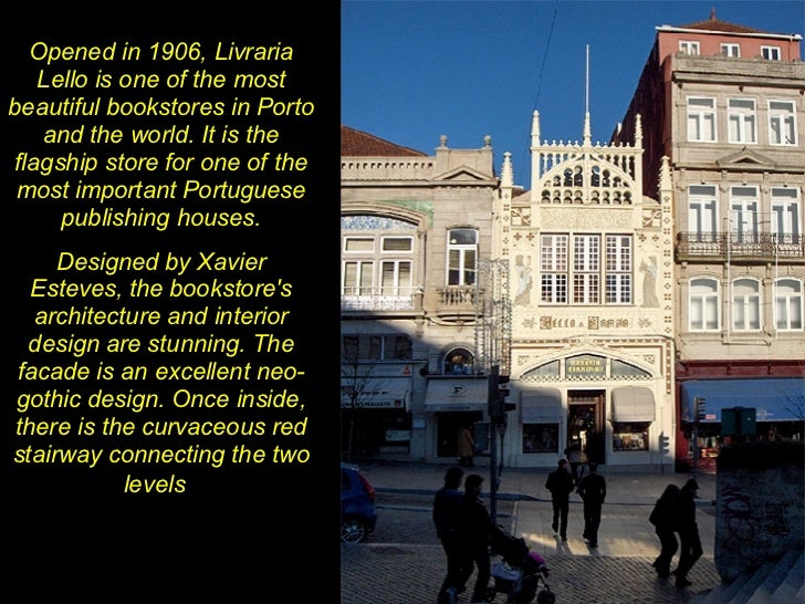 Library Lello Bookbtore 1906 Porto