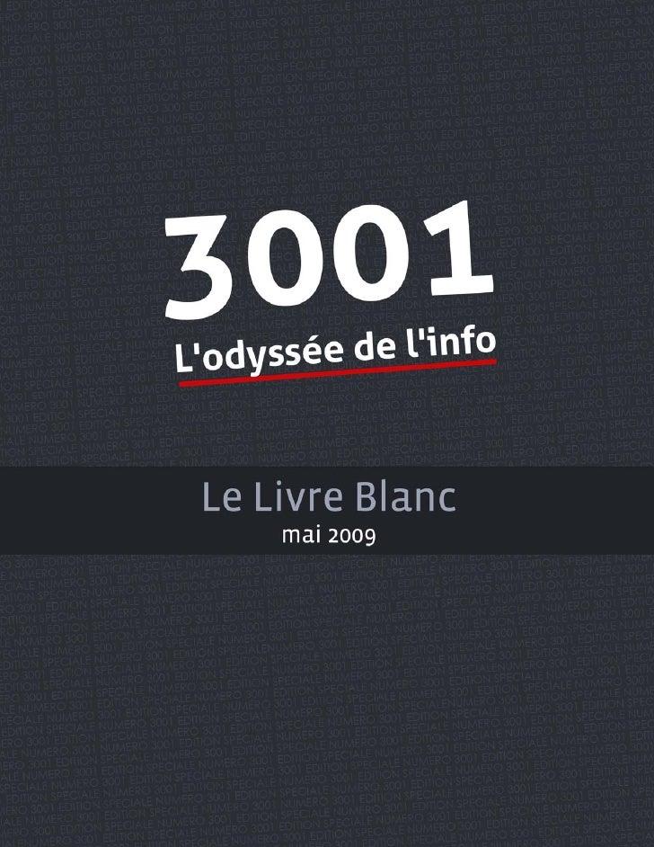 Livre Blanc 3001 l'Odyssée de l'info