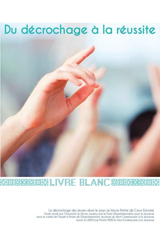 Livre blanc - Du décrochage à la réussite